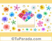 Imagen con flores para portada