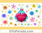 Imagen con personaje y flores