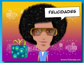 Imagen con peluca pop