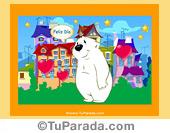 Imagen con oso blanco
