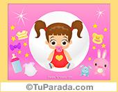 Imagen de niña en rosa