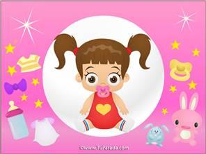 Tarjeta de Imágenes de bebés