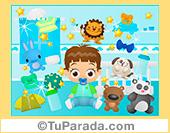 Imagen de niño con juguetes