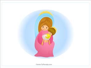 Imagen de la Virgen María