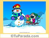 Imagen de trineo de Navidad