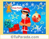 Imagen vestido de Papá Noel