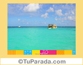 Foto de mar turquesa
