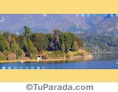 Foto lago del sur