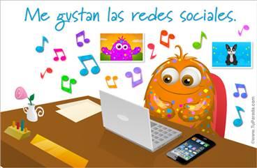 Me gustan las redes sociales