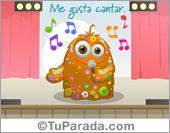 Me gusta cantar