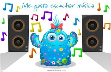 Me gusta escuchar música