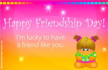 Friendship day ecard