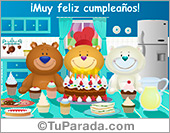 Saludo de cumpleaños de grupo