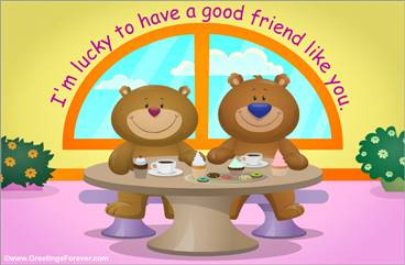 Bears friendship free ecard