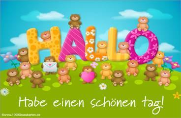Freundliche Bären E-Card