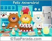 Cartão de aniversário!