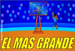 Tarjeta de basket