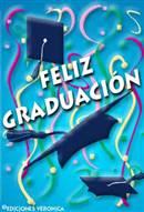 Tarjeta de feliz graduación