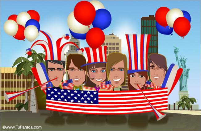 Tarjeta - Estados Unidos
