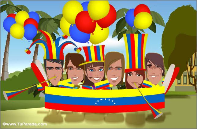 Tarjeta - Venezuela