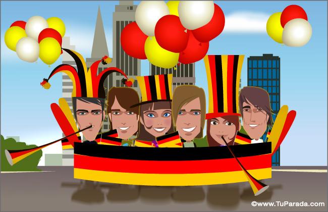 Tarjeta - Alemania