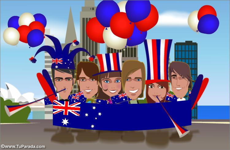 Tarjeta - Australia