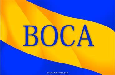 Tarjeta de Boca
