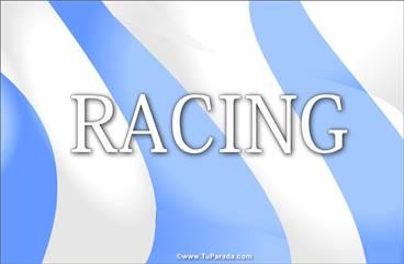 Tarjeta de Racing