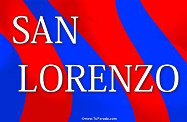 Tarjeta de San Lorenzo