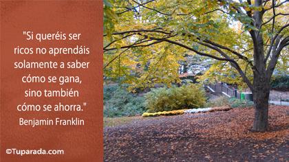 Tarjeta de Benjamin Franklin