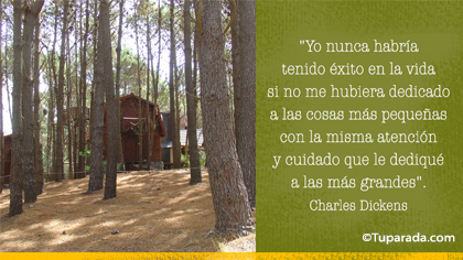 Tarjeta de Charles Dickens