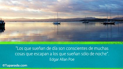 Tarjeta de Edgar Allan Poe