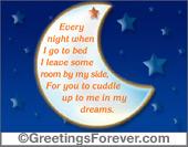 Every night...