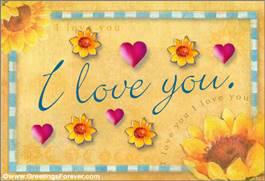 Our love ecard