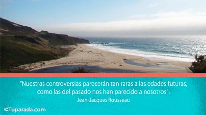Tarjeta de Jean-Jacques Rousseau