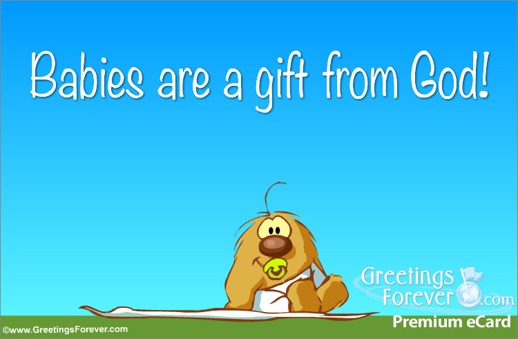 Ecard - A gift from God