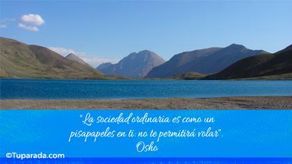 Tarjeta de Osho