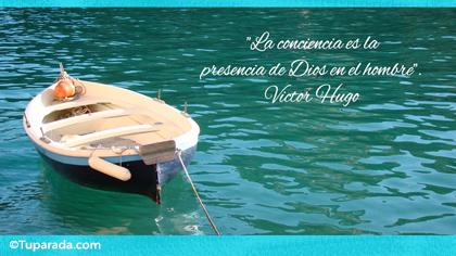 Tarjeta de Victor Hugo