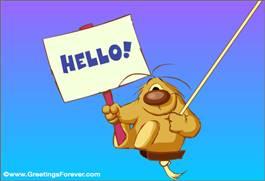 Hello ecard