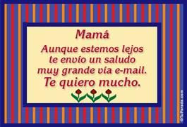 Para mamá...