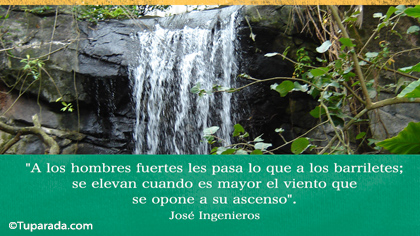 Tarjeta de José Ingenieros