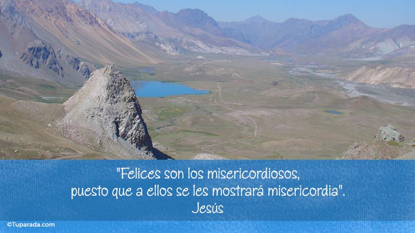 Tarjeta - Los misericordiosos
