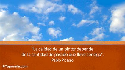 Tarjeta de Pablo Picasso