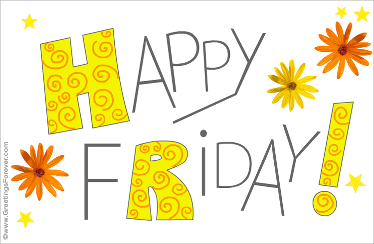 Ecard - Happy Friday!