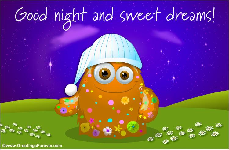 Good night and sweet dreams good night greeting cards ecard good night and sweet dreams m4hsunfo