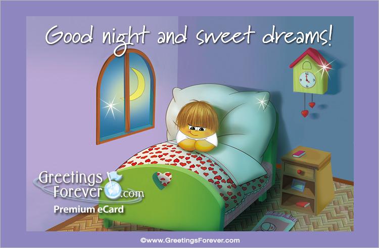 Ecard - Special good night