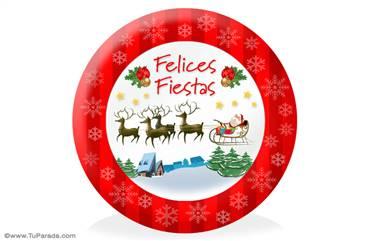 Tarjeta de Manualidades de Navidad