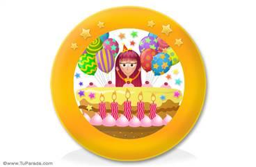 Ideas de adornos de cumpleaños