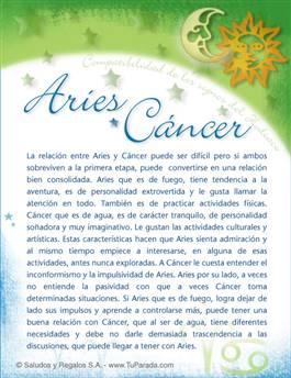 Tarjeta de Compatibilidad de Aries