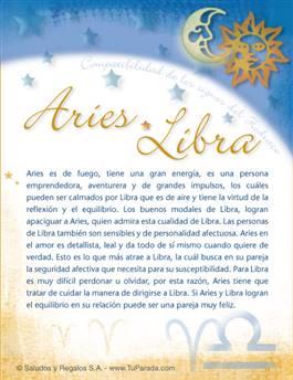 Aries con Libra